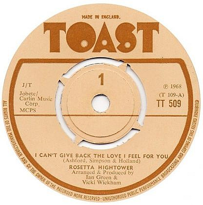 I Can'T Give The Love I Feel For You / Big Bird
