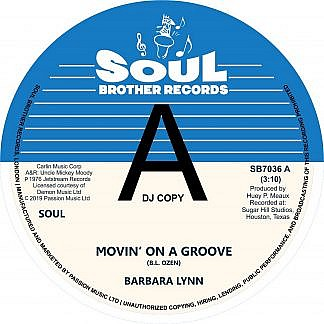 Movin On A Groove/Disco Music (Dj Copy) (Pre-order: Due 22nd March 2019)