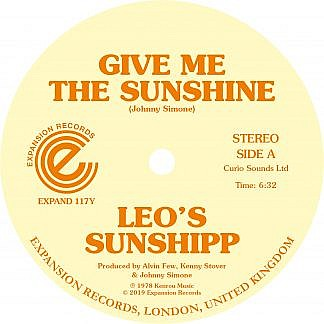 Give Me The Sunship/I'M Back For More (Limited Numbered Coloured Vinyl)