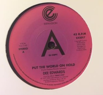 Put The World On Hold/Put Your Love On The Line (Dj Copy)