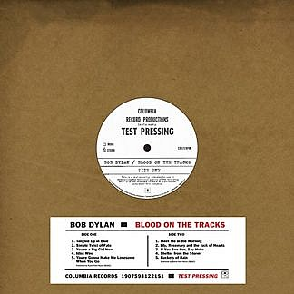 Blood On The Tracks - Original New York Test Pressing