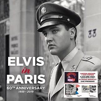 Elvis In Paris: 60Th Anniversary  (Red/White/Blue Vinyl)