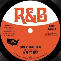 Coming' Home Baby/Cry To Me