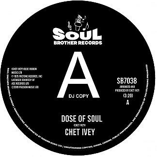 Dose Of Soul/Get Down With The Geater (Dj Copy)