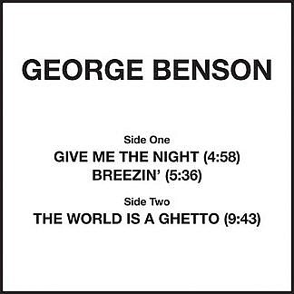 Give Me The Night/World Is A Ghetto