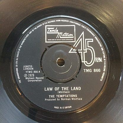 Law Of The Land / Funky Music Sho Nuff Turns Me On