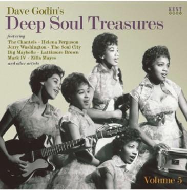 Dave Godin'S Deep Soul Treasures Volume 5 (pre-order: Due 25th oct)
