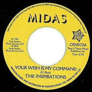 Your Wish Is My Command/I'Ll Take A Chance On You