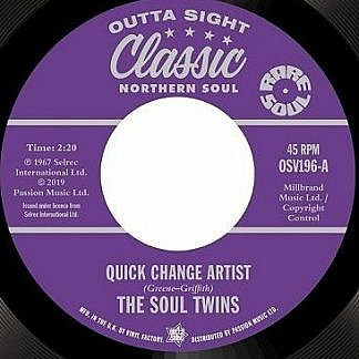 Quick Change Artist/Keep On Keeping On
