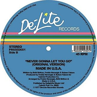 Never Gonna Let You Go (Original/Theo Parrish Mix)