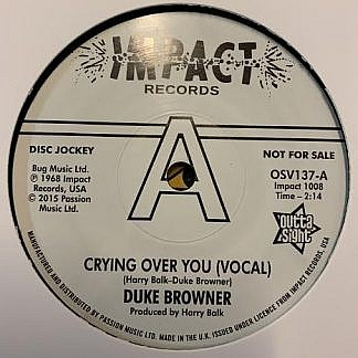 Crying Over You (Dj Copy)