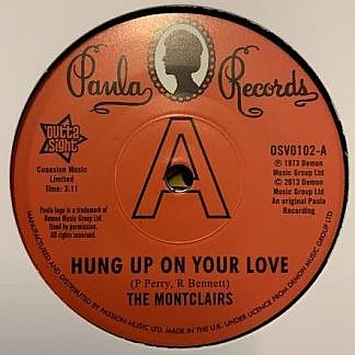 Hung Up On Your Love/I Need You More Than Ever (Dj Copy)