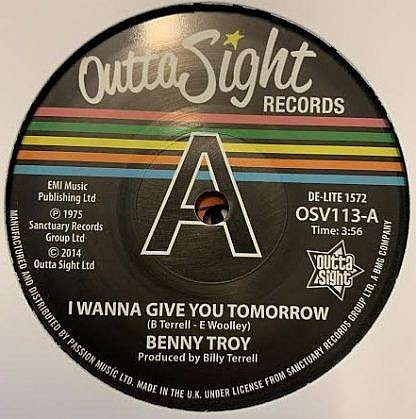 I Wanna Give You Tommorow (Dj Copy)