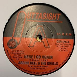 Here I Go Again/Tighten Up (Dj Copy)