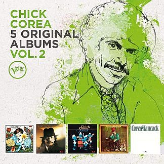 Chick Corea - 5 Original Albums Vol 2