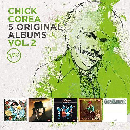 Chick Corea - 5 Original Albums Vol 2