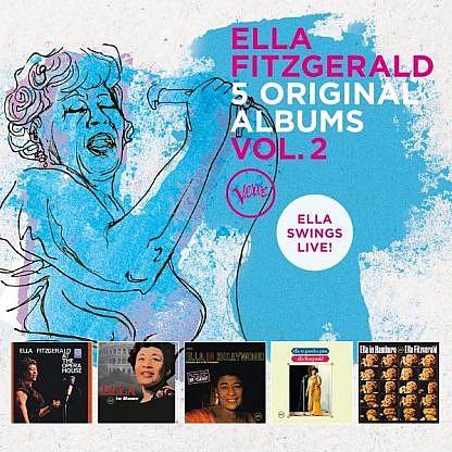 Ella Fitzgerald - 5 Original Albums Vol 2