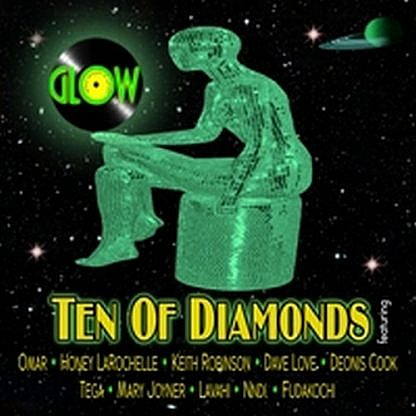 Glow Presents Ten Of Diamonds