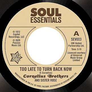 Too Late To Turn Back Now / Big Time Lover  (Pre-order: Due 6th March 2020)