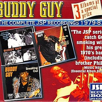 The Complete Jsp Recordings 1979-82 - Dj Play My Blues/ Live At The Checkerboard/ Breaking Out