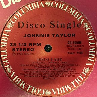 Disco Lady / Love Is Better In The A.M.