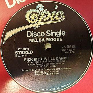 Pick Me Up, I'Ll Dance