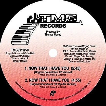 Now That I Have You (Versions)