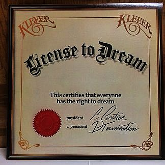 License To Dream