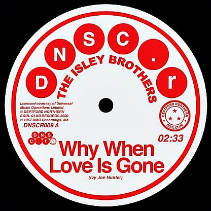 Why When The Love Is Gone/Can'T Ghold The Feeling Back