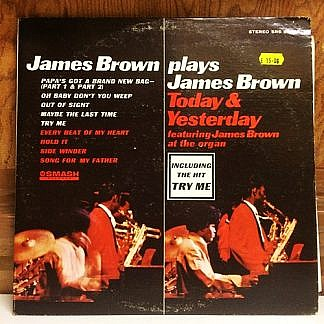 Plays James Brown Today And Yesterday