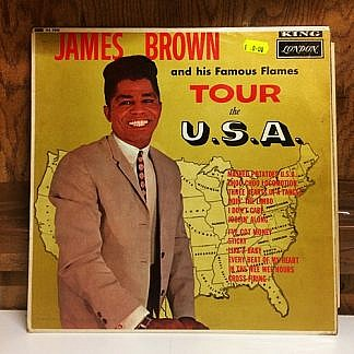 James Brown And His Famous Flames Tour The Usa