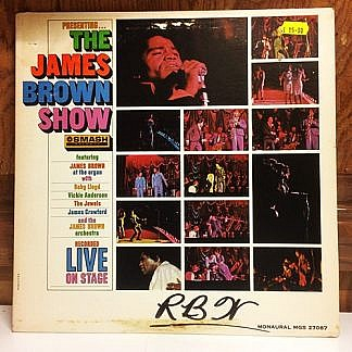 Presenting The James Brown Show Recorded Live On Stage