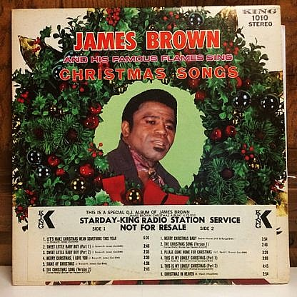 James Brown And His Famous Flames Sing Christmas Songs