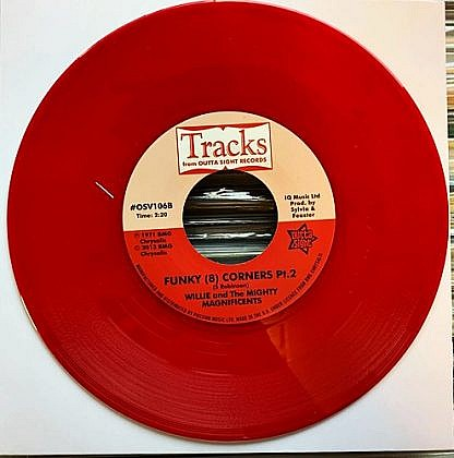 Ton Of Dynamite/Funky 8 Corners (Red Vinyl)