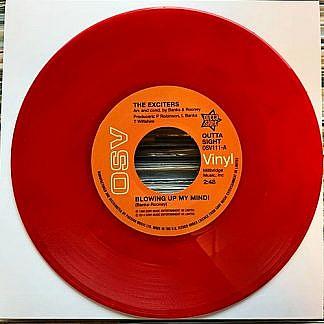 Blowing Up My Mind/Turn Me On (Red Vinyl)
