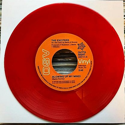 Blowing Up My Mind/Turn Me On (Red Vinyl)