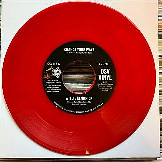Change Your Ways/What'S That On Your Finger (Red Vinyl)