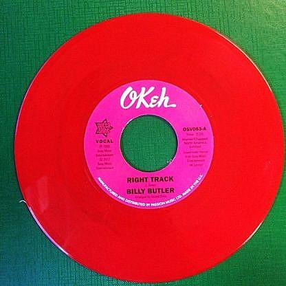 Right Track/Instrumental (Red Vinyl)