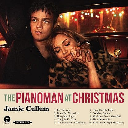 The Piano Man At Christmas (Santa Claus Red)