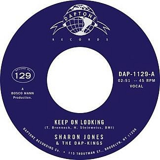 Keep On Looking/Natural Born Lover (Instrumental) (Pre-order:Due 22nd January 2021)