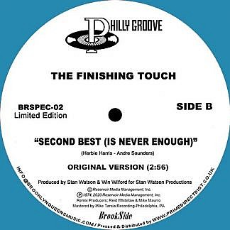 Second Best (Is Never Enough) Mike Maurro Mix/Original (Blue Vinyl)