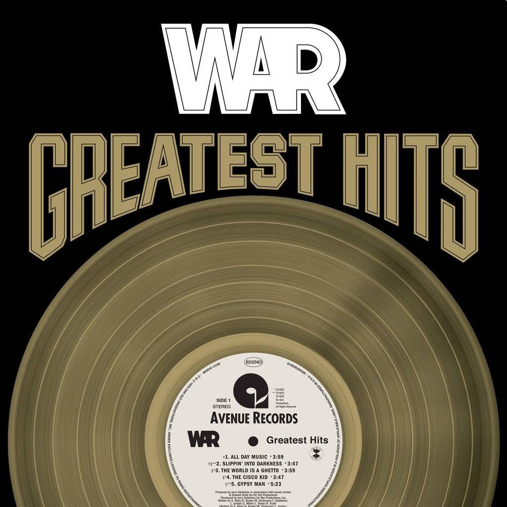 War Greatest Hits (Gold Vinyl)