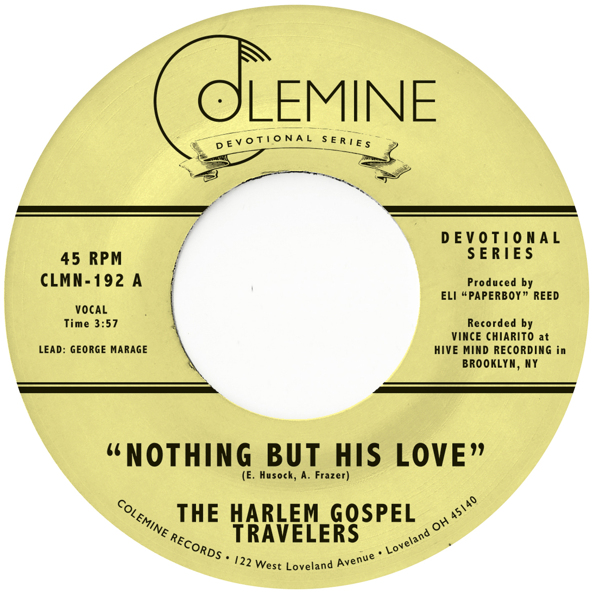 Nothing But His Love (coloured vinyl)