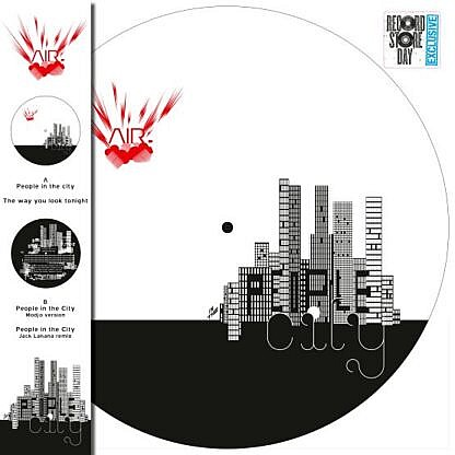 People in the City (pic disc)