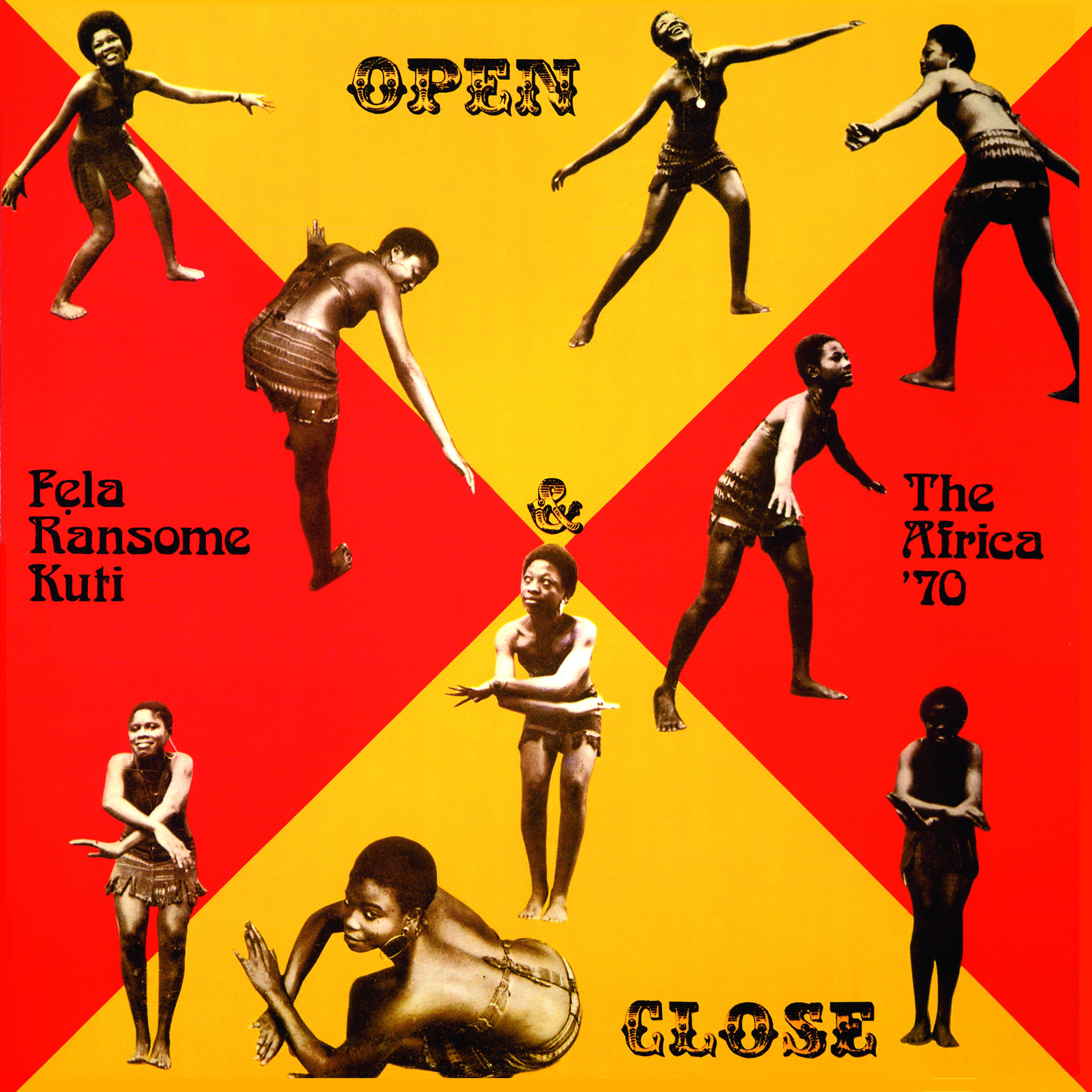Open & Close (red/YELLOW VINYL)