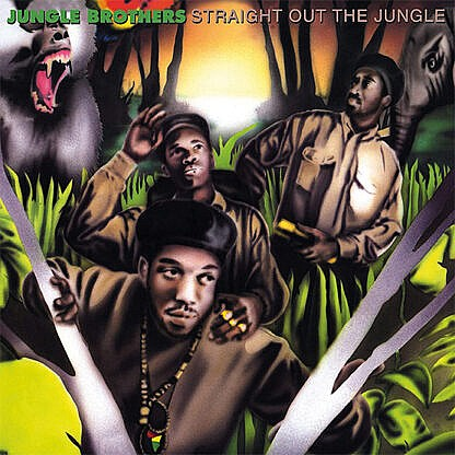 Straight Out Of The Jungle / Black Is Black