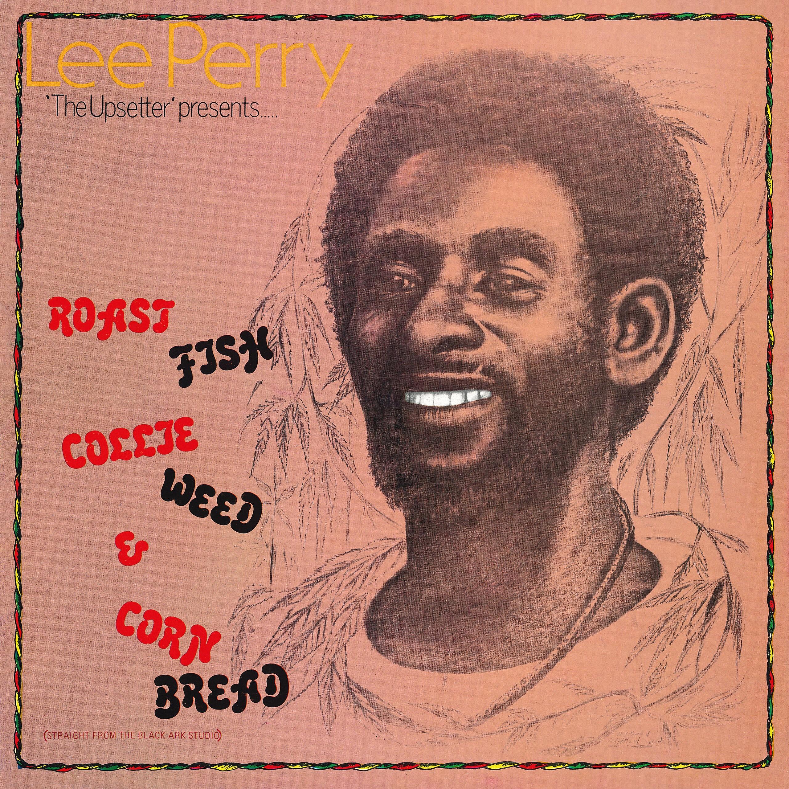 Roast Fish, Collie Weed & Cornbread