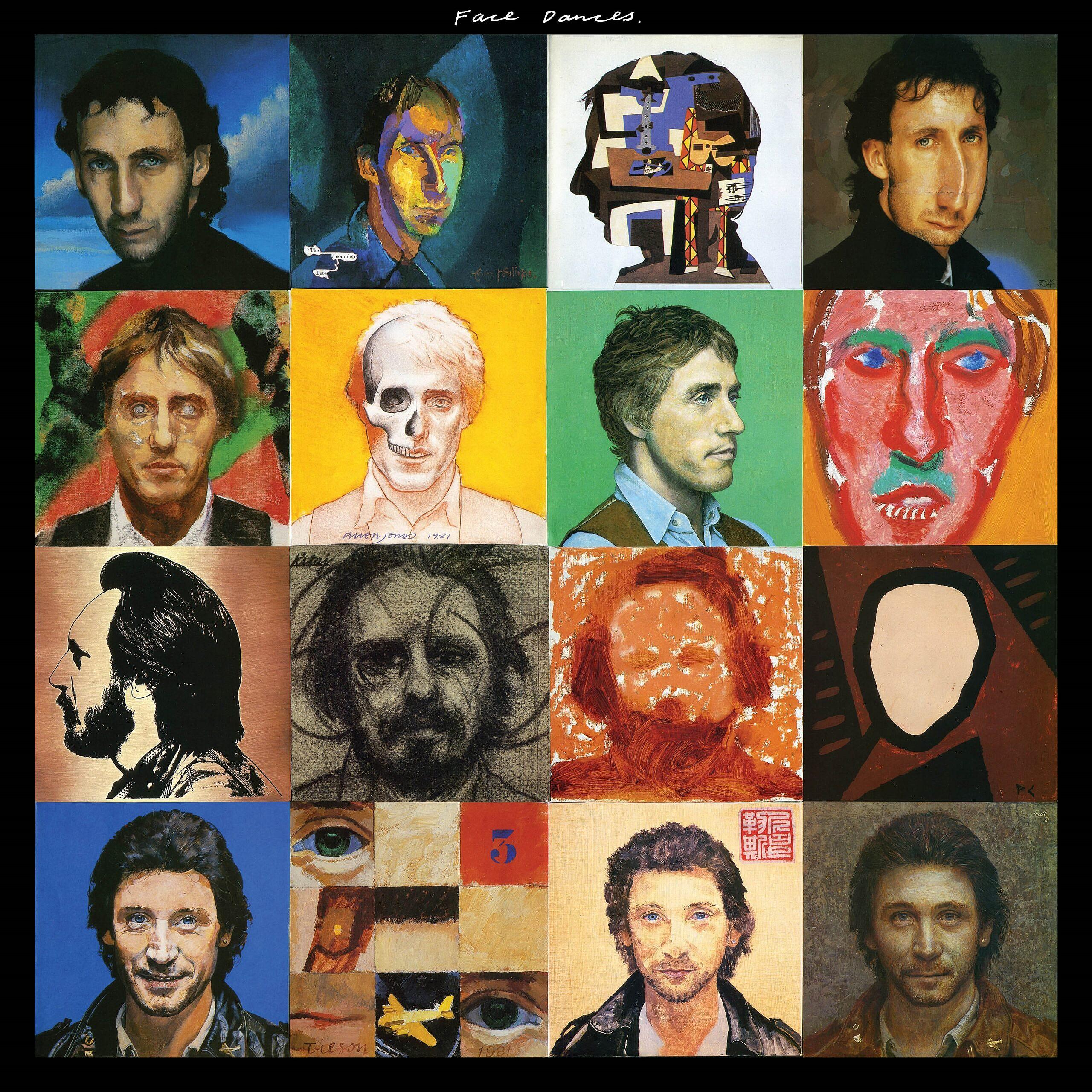 Face Dances - Coloured Vinyl