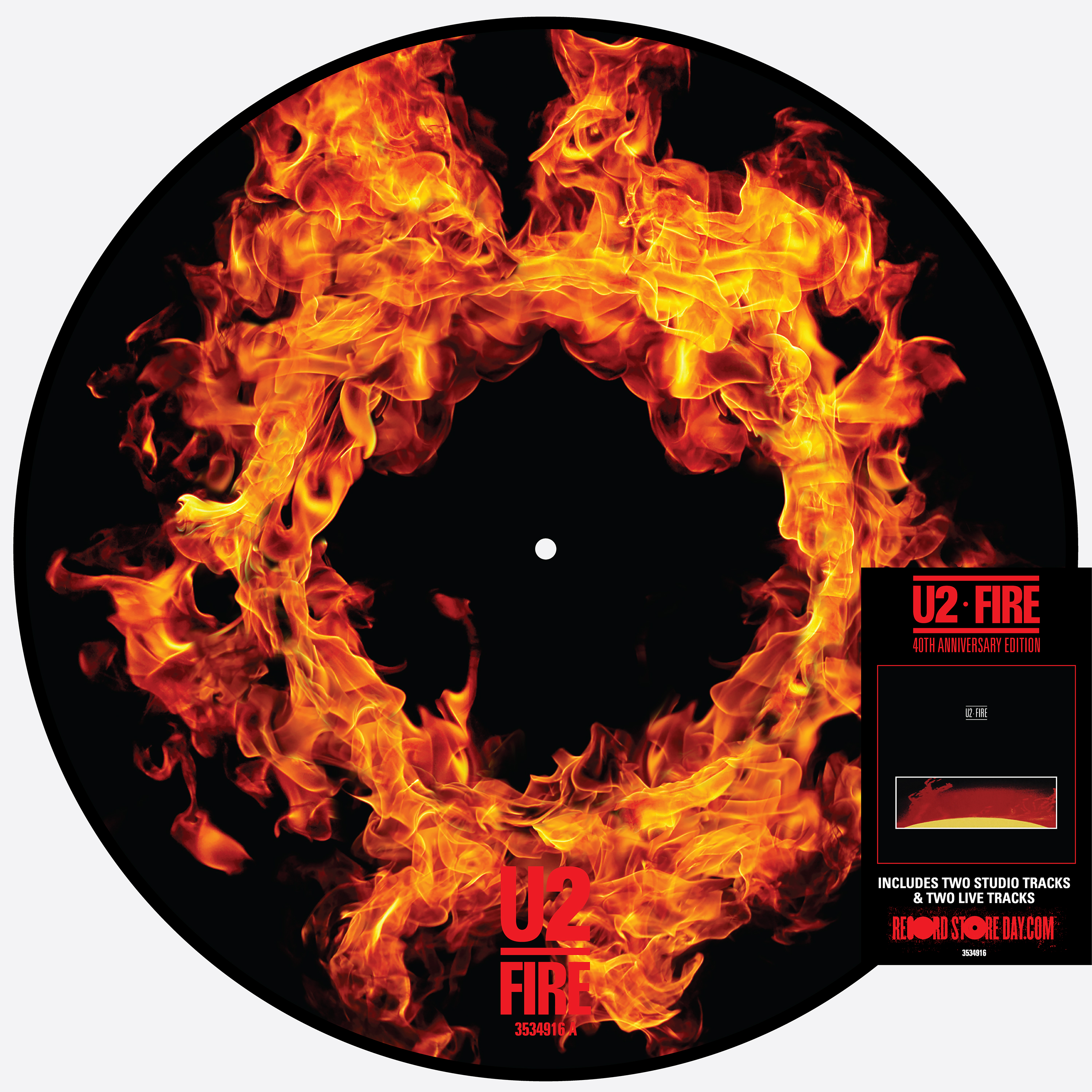 Fire (40th Anniversary Edition- pic disc)