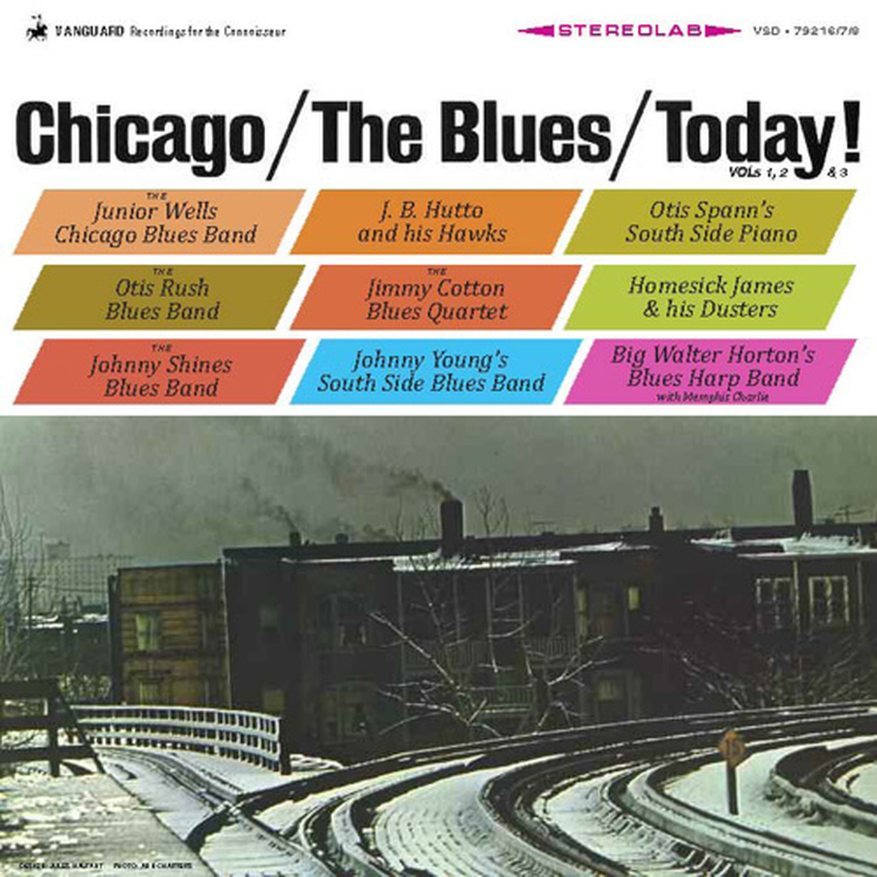 Chicago/The Blues/Today! Vol 1,2 & 3